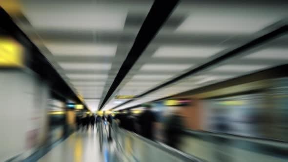 Airport Hyperlapse