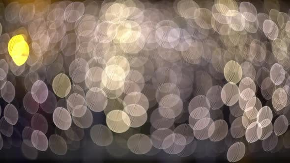 Ambient Abstract Bokeh Particles Background Video by