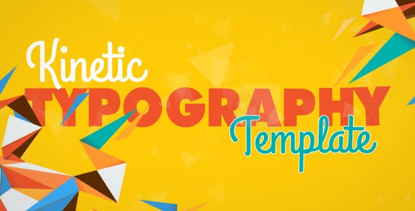 Videohive Kinetic Typography 8523088 Free Download