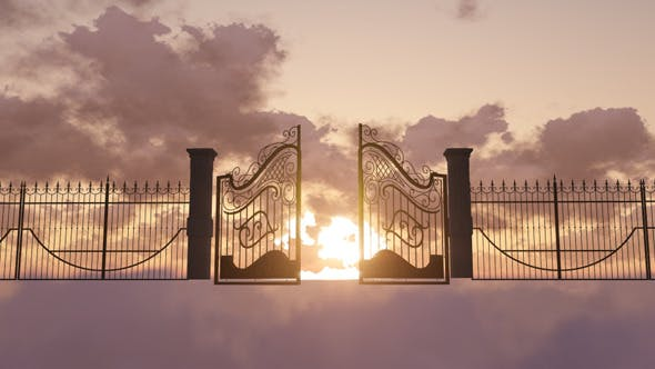Gates Of Heaven Animation by se5d | VideoHive