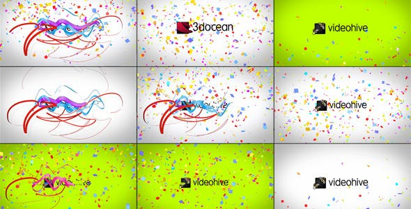 Confetti Logo Reveal by BoxMotion | VideoHive