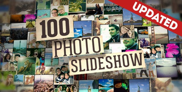 100 Photo Slideshow by FluxVFX-templates | VideoHive