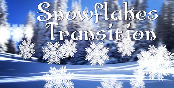 Snowflakes Transition by Dj-Art | VideoHive