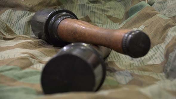 German Stick Grenade- WW II by Duksi | VideoHive