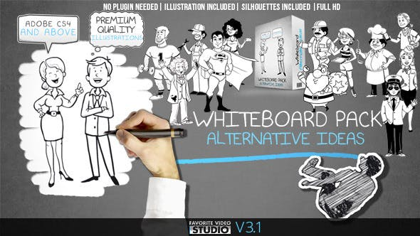 Whiteboard: Alternative Ideas by FVS | VideoHive