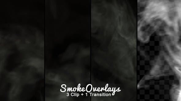Smoke Overlays by bank508 | VideoHive