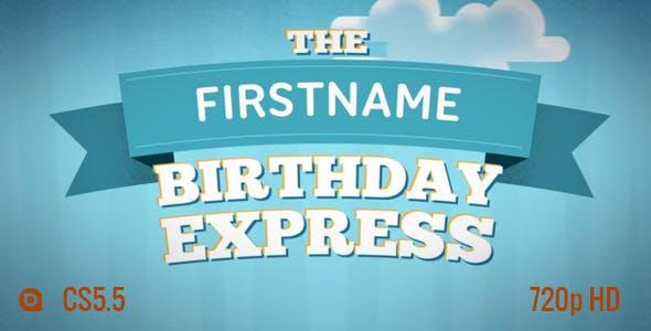 Birthday Express Slideshow By AndrewDavies