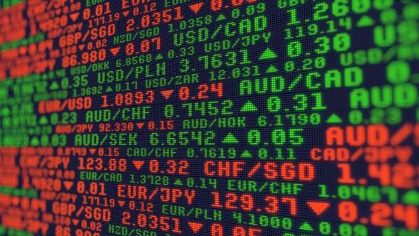 Stock Market Currency Exchange Rates