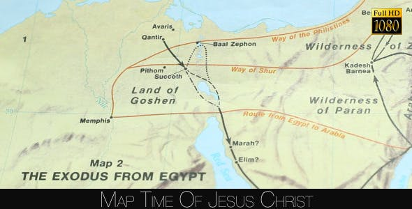 Map Time Of Jesus Christ by FootageStock | VideoHive Map Jesus Time on map paul's time, map jerusalem time of christ, map of israel at time of christ, map of asia in the time of christ, israel during jesus' time,