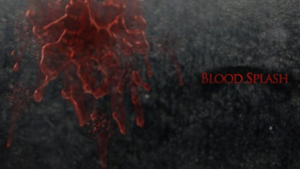 Blood Splash Video Effects & Stock Videos from VideoHive