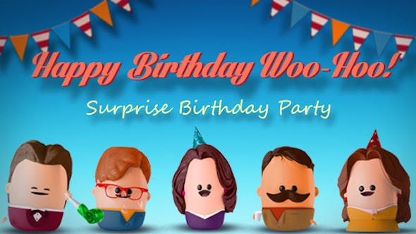Happy Birthday After Effects Templates