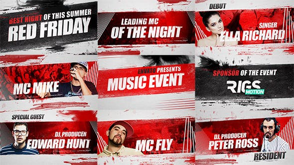 Music Event Promo by rigsmotion | VideoHive