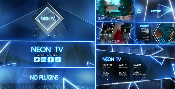 Neon TV Broadcast Package by davleha | VideoHive