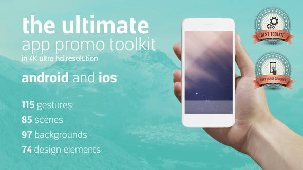 Ultimate App Promo Toolkit by NeuronFX | VideoHive