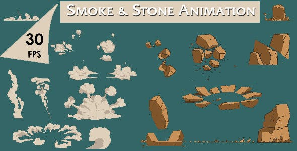 2d Vfx - Animation Pack by sokasokagames | VideoHive