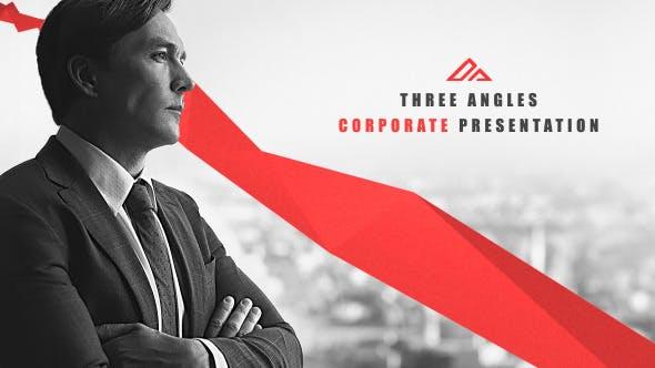 Videohive Corporate Presentation Three Angles Free Download