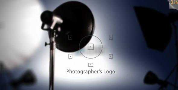 Photography related Logo revealer
