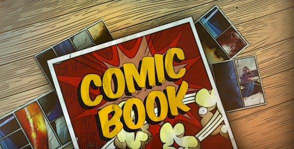 Comic Book by Realthing-Templates | VideoHive