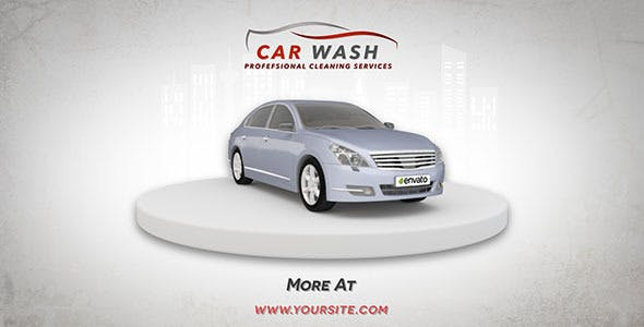 Car Wash Promo by Petrovykh | VideoHive