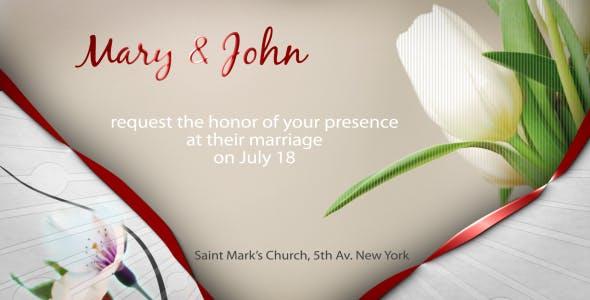 Invitation Videohive E-card Steve314 Wedding By saith