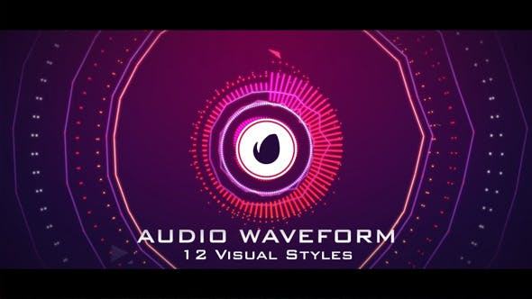Audio Waveform Music React by BoxMotion | VideoHive