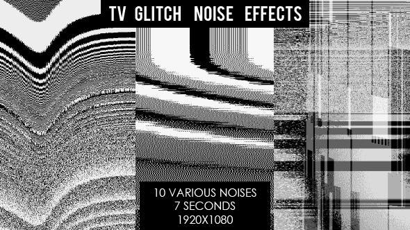 TV Glitch Noise Interference Effects by VF | VideoHive