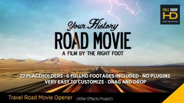 Travel Road Movie