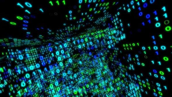 Binary Data Cube 2 by Gesh-tv | VideoHive