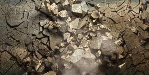 Wall Explode by NickolasM | VideoHive