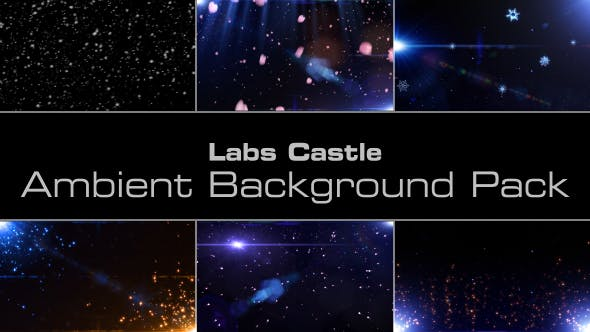 Ambient Background Pack by labscastle   VideoHive