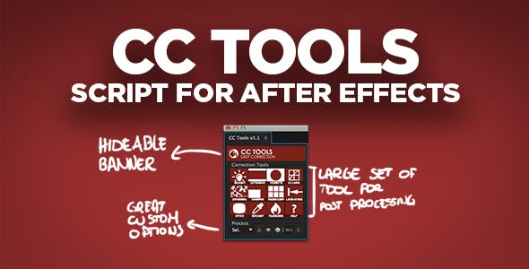 CC Tools | After Effects Script by tbucci | VideoHive