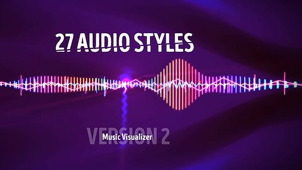 Audio Visualizer Music React 2 by BoxMotion | VideoHive