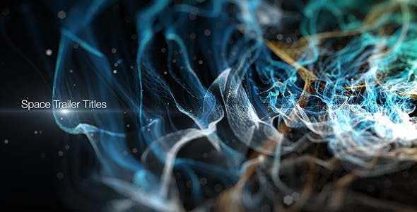 Videohive Space Trailer Titles 14206243 Free