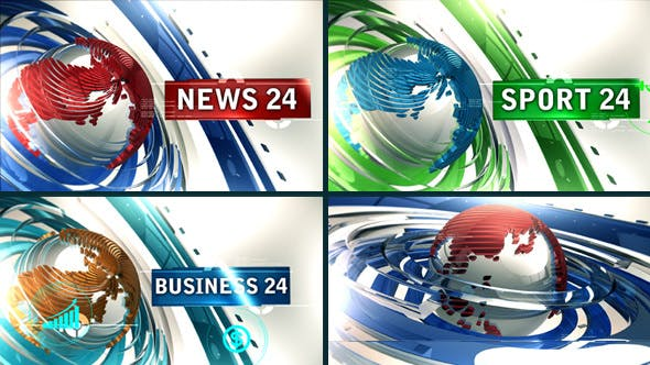 News 24 Video Effects & Stock Videos from VideoHive