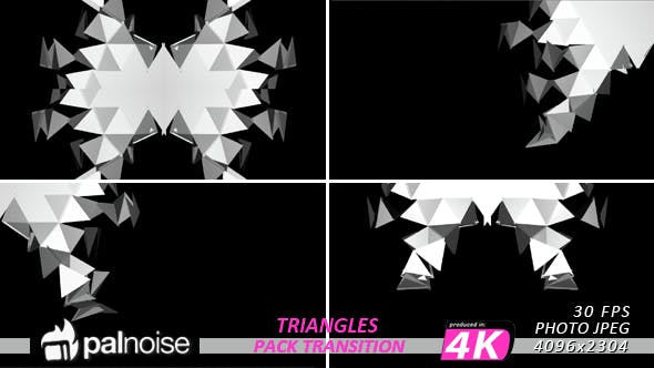 Unfold Fold Triangles (9-Pack) by palnoise | VideoHive