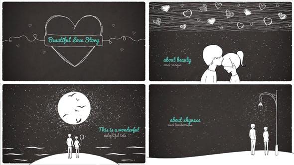 Beautiful Love Story By Monstrkesha Videohive