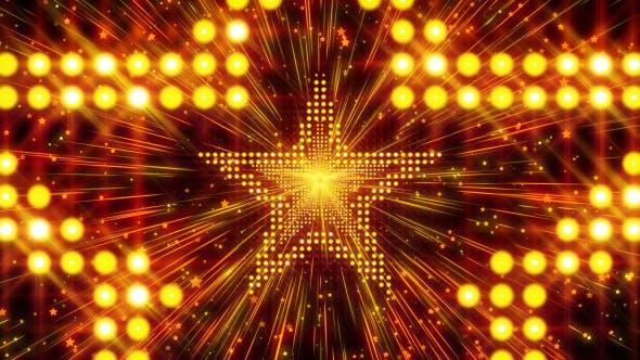 Golden Star Led Lights