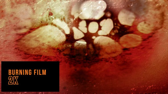 Burning Film Tape by louderick | VideoHive