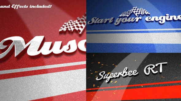 Nascar Video Effects & Stock Videos from VideoHive