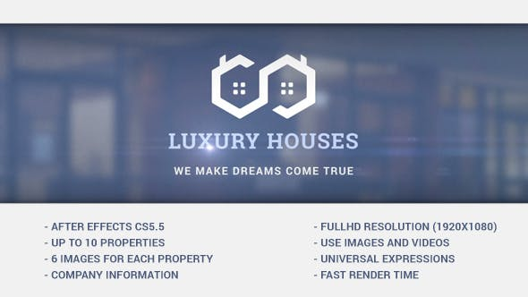 Luxury Houses - Real Estate Presentation by px-bro | VideoHive