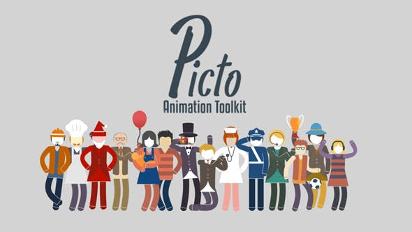 Videohive Picto Animation Toolkit Free Download