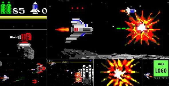 Logo Arcade Game 8 Bit by Plusslon | VideoHive