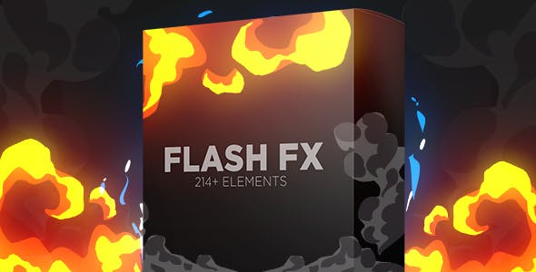 Flash Fx Elements | Hand Drawn Bundle Pack by Lord_Varan | VideoHive