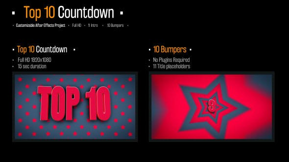 Top 10 Countdown by stevepfx | VideoHive