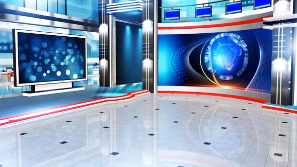 Virtual Set Background Video Effects & Stock Videos