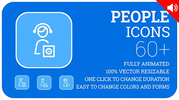 People Icons and Elements by likeman | VideoHive