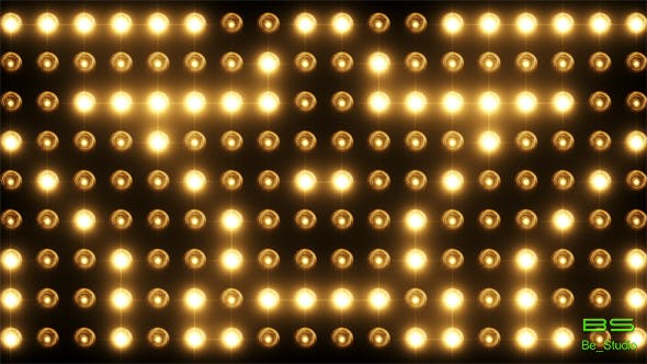 Flashing Lights Wall Of Lights By Be Studio Videohive