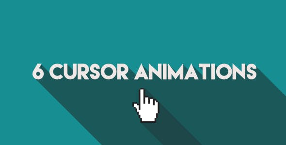 6 Cursor/ Mouse Pointer Animations by OJDesigns | VideoHive