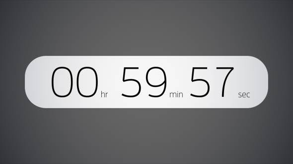 After Effects Countdown Templates from VideoHive