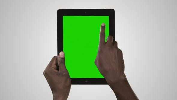 Fantastic Black Hands On Tablet Scroll Down And Zoom Out By Download Free Architecture Designs Rallybritishbridgeorg